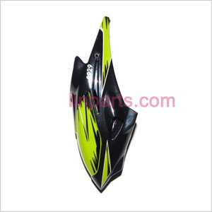 WLtoys WL S929 Spare Parts: Head cover\Canopy(Green)