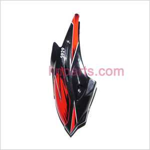 WLtoys WL S929 Spare Parts: Head cover\Canopy(Red)