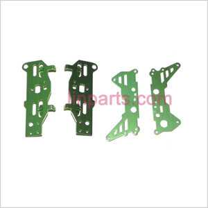 WLtoys WL S929 Spare Parts: Metal frame(Green)