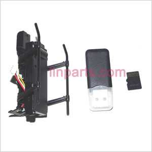 WLtoys WL S977 Spare Parts: Camera set+Undercarriage+Bottom board