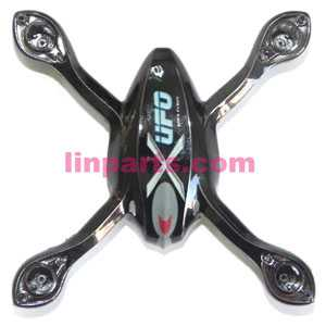 WLtoys V343 RC Quadcopter WL toys V343 Quadcopter model Spare Parts: Upper Head cover(Black)