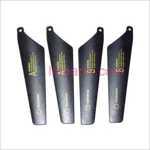WLtoys WL V388 Spare Parts: Main blades Black)