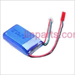 New Battery 7.4v 1000mAh(Red JTS plug)
