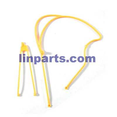 JJRC V915 RC Helicopter Spare Parts: Tail connect parts [Yellow]