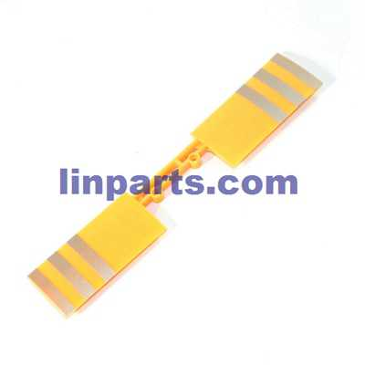 WLtoys V915 2.4G 4CH Scale Lama RC Helicopter RTF Spare Parts: Tail wing (Yellow)