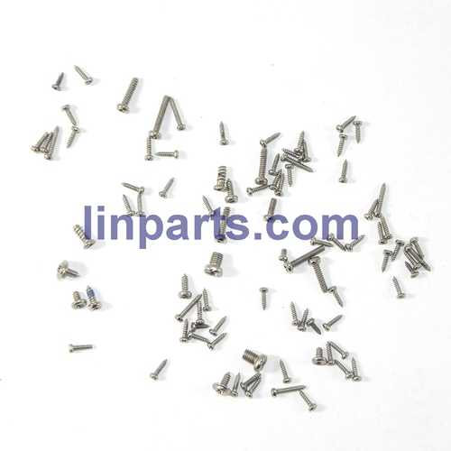 WLtoys V915 2.4G 4CH Scale Lama RC Helicopter RTF Spare Parts: screws pack set