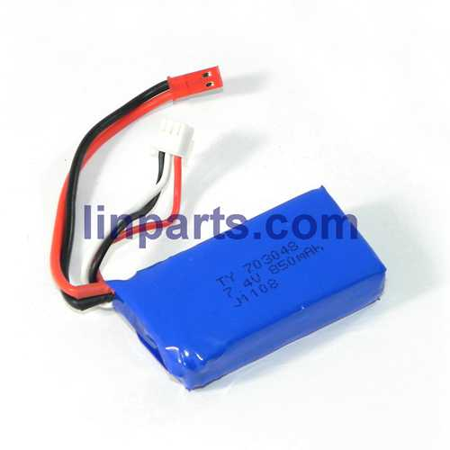 WLtoys V915 2.4G 4CH Scale Lama RC Helicopter RTF Spare Parts: Battery 7.4V 850mAh