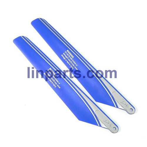 WLtoys V915 2.4G 4CH Scale Lama RC Helicopter RTF Spare Parts: Main blades propellers (Blue)