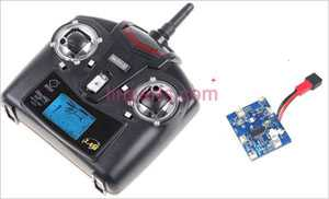 WLtoys WL V929 Spare Parts: Remote Control\Transmitter+PCB\Controller Equipement