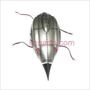 WLtoys WL V959 V969 V979 V989 V999 Spare Parts: Head cover\Canopy and 4LED lamp