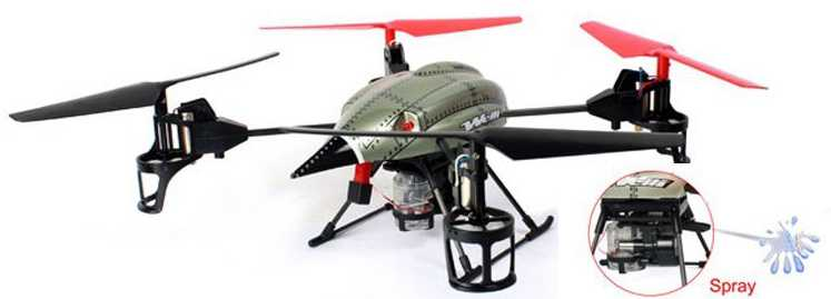 WLtoys WL V979 RC Helicopter Quad Copter(Functional components Fountain set)