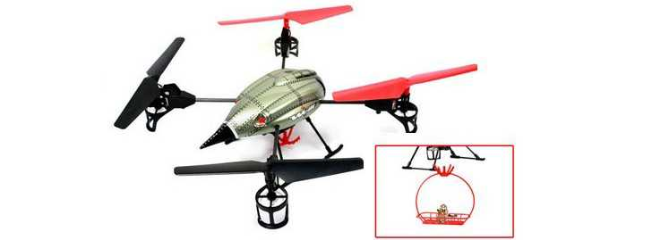 WLtoys WL V999 RC Helicopter Quad Copter(Functional components Rescue set)