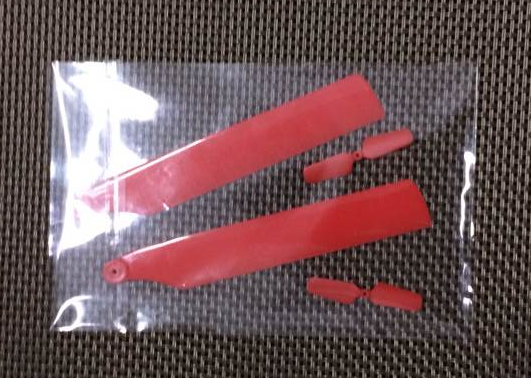 WLtoys WL V966 Helicopter Spare Parts: main rotor blade(red)