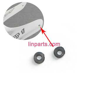 WLtoys WL V966 Helicopter Spare Parts: small rubber in the hole of the head cover