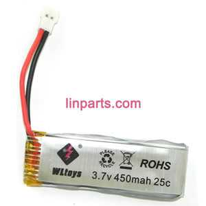 WLtoys WL V977 Helicopter Spare Parts: battery (3.7V 450mAh)