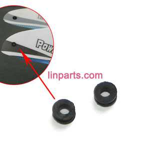 WLtoys WL V977 Helicopter Spare Parts: small rubber in the hole of the head cover