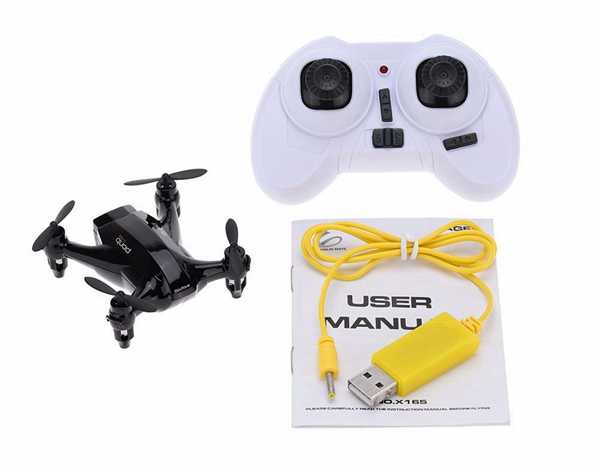 XinLin X165 2.4GHz 6-axis Gyro 3D Roll Mini Drone Nano Quadcopter