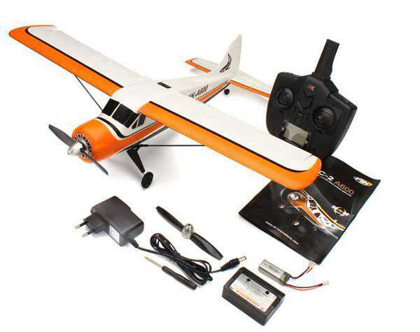 XK DHC-2 A600 5CH 3D6G System Brushless RC Airplane Compatible Futaba RTF
