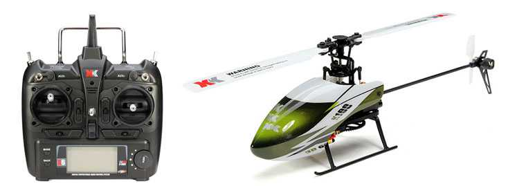 XK K100 RC Helicopter