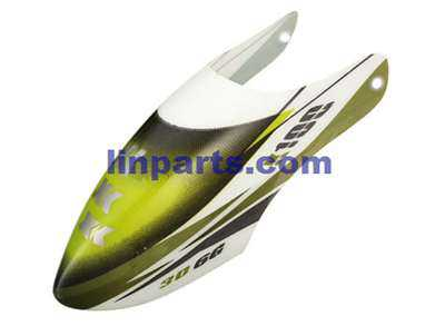 XK K100 Helicopter Spare Parts: Head cover/Canopy
