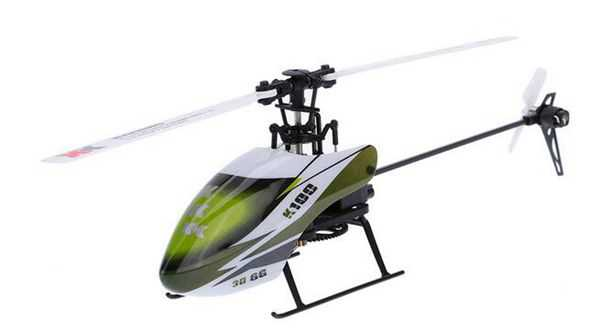 XK K100 RC Helicopter Body [Without Transmitter and Battery]