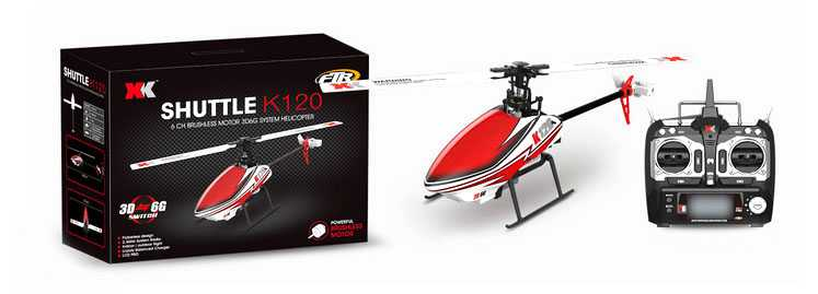 XK K120 RC Helicopter