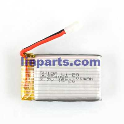 3.7V 700mAh Battery (Air-to-air plug)