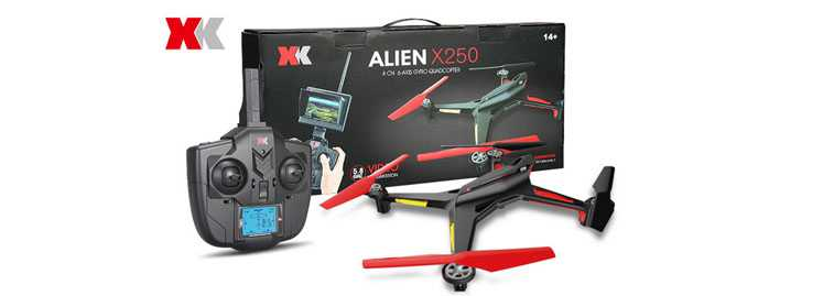 XK Alien X250 X250A X250B RC Quadcopter