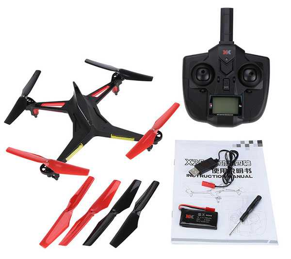 XK Alien X250 2.4G 4CH 6 Axis Headless Mode RC Quadcopter