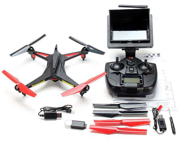 XK Alien X250-A 2.4G 4CH 6 Axis Headless Mode RC Quadcopter RTF【5.8G FPV With 2.0MP Camera】
