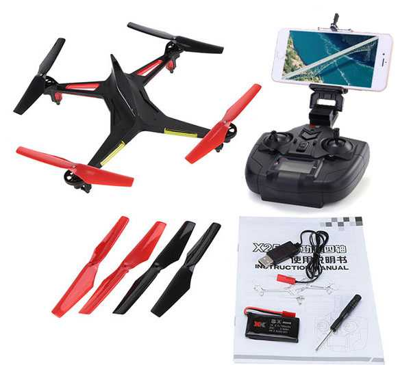 XK Alien X250-B 2.4G 4CH 6 Axis Headless Mode RC Quadcopter RTF【WiFi FPV With 720P Camera】