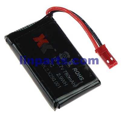 XK Alien X250 X250A X250B RC Quadcopter Spare Parts: Battery (3.7V 780mAh)