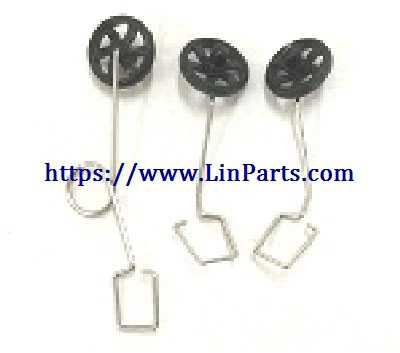 XK A100 RC Airplane Spare Parts: Landing Gear