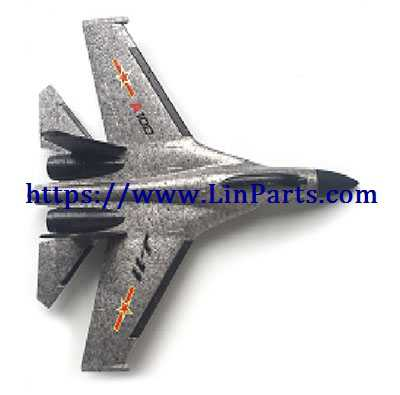 XK A100 RC Airplane Spare Parts: Body group[gray]