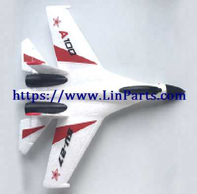 XK A100 RC Airplane Spare Parts: Body group[white]