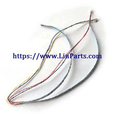 XK A120 RC Airplane Spare Parts: Lights group