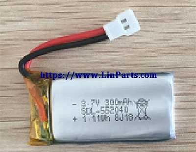 XK A130 RC Airplane Spare Parts: Battery 3.7V 300mAh