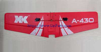 XK A430 RC Airplane Spare Parts: Wing group