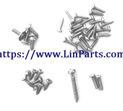 XK X130-T RC Quadcopter Spare Parts: Screw package