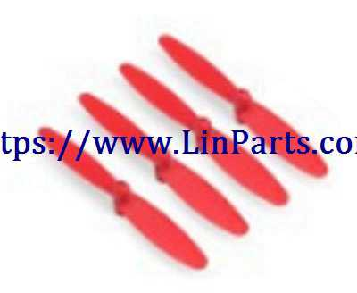 XK X150 RC Quadcopter Spare Parts: Main blades[Red]