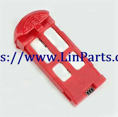 XK X150 RC Quadcopter Spare Parts: 3.7V 800mAh Battery[Red]