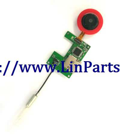 XK X150 RC Quadcopter Spare Parts: Red WIFI Image transmission group (ordinary lens)